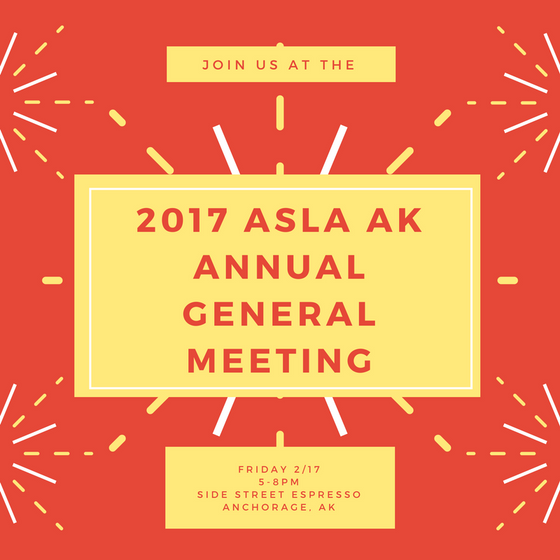ASLA AK 2017Annual General Meeting