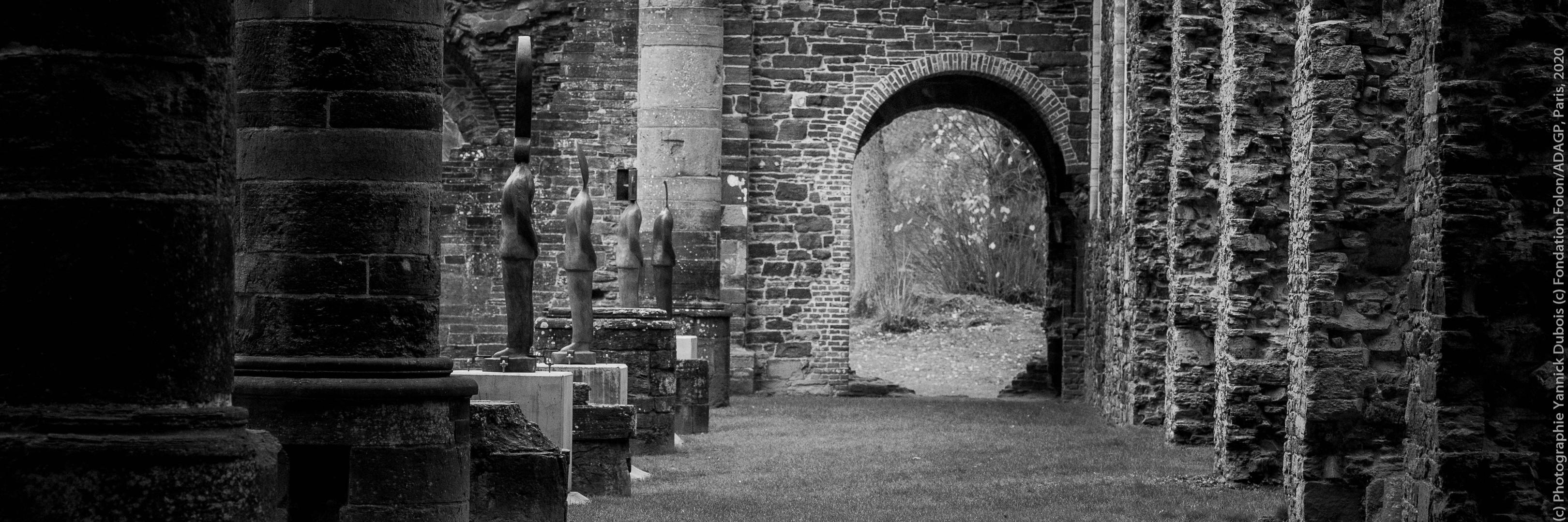 Exposition Folon, abbaye de Villers