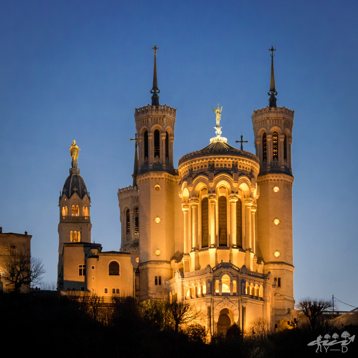 Basilique de Fourvière, Lyon, Wallophoto