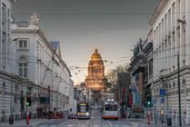 Palaise de justice, Bruxelles, Wallophoto, Février 2021