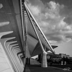 Liège Guillemins, une des gares les plus emblématiques de Belgique