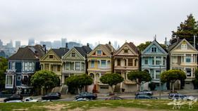 Seven painted ladies, San Francisco
