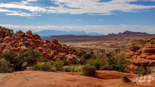 Arch national park, photographie de paysage, fiery furnace