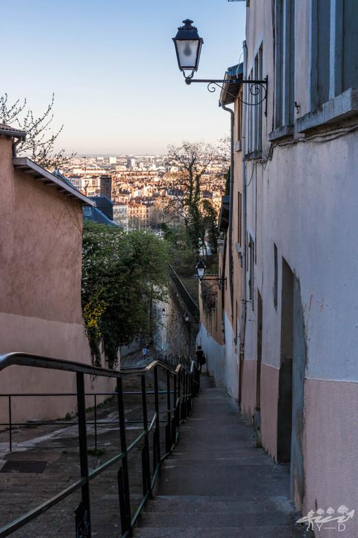 Ruelle lyonnaise, Lyon, Wallophoto