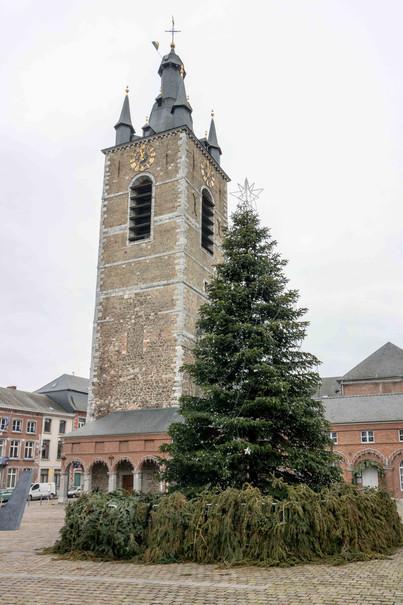 Beffroi de Thuin, Wallonie, Belgique