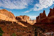 Arch national park, photographie de paysage, park avenue