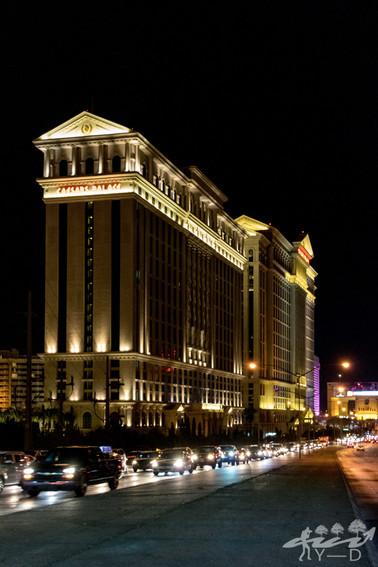 Las-Vegas by night, Caesar Palace