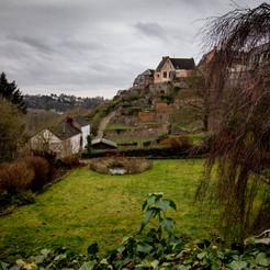 Jardins suspendus de Thuin, Wallonie, Belgique