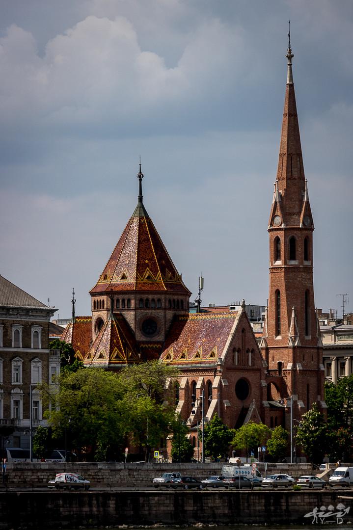 Eglise calviniste le long du danube