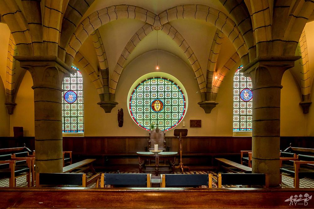 Abbaye Notre Dame du Val-Dieu, Salle du chapitre, Val-Dieu, Wallophoto, Abbaye du Val-Dieu