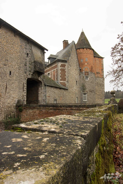 Château de Leers-et-Fosteau, Wallonie, photographie de paysage