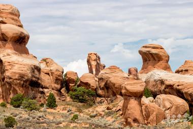 Arch national park, photographie de paysage, Devil's garden