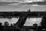 Lever de soleil sur Budapest