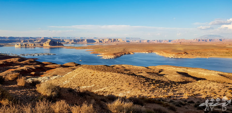 Lac Powell, Wahweap Overlook
