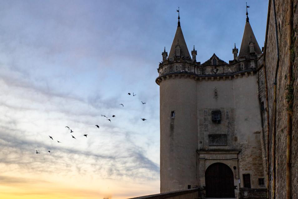Envolée vers le château de Grignan