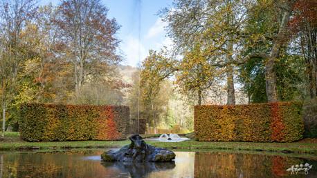 Le grand cracher, les jardins d'Annevoie