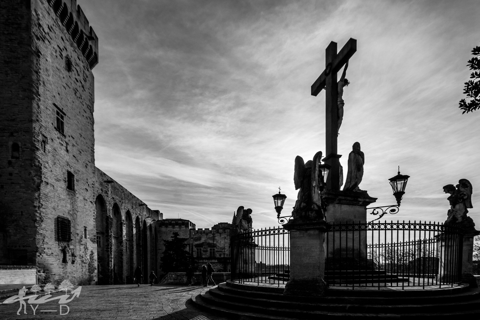 Palais des papes, Avignon, Wallophoto 2019