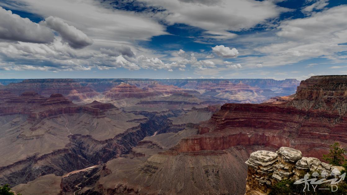 Hermit's rest road, Grand canyon, Arizona, Etats-Unis
