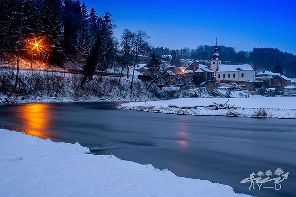 Chassepierre, chassepirre sous la neige, wallophoto, photo de paysage chassepierre, yannick dubois, photo de paysage
