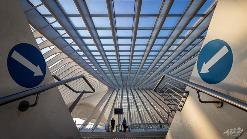 Liège Guillemins, Wallophoto, Août 2021