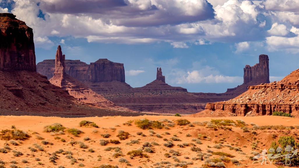 King on his throne, Monument Valley, Arizona, Etats-Unis