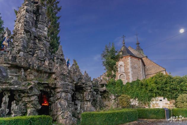 Eglise Saint Martin et grotte du Diable