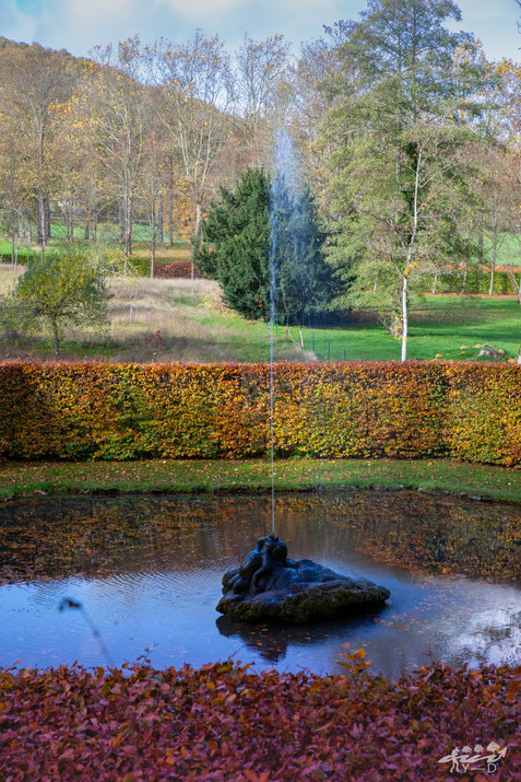 Le grand cracheur, les jardins d'Annevoie