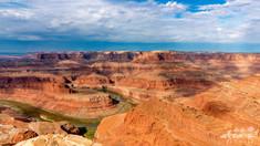 Canyonlands, photographie de paysage, dead horse state park