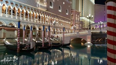 Las-Vegas by night, photographie, Nevada, the venetian