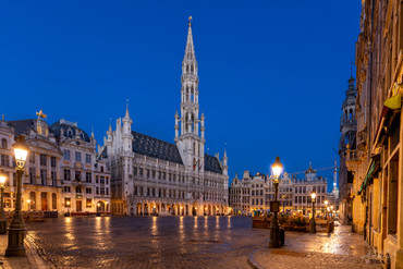 Panorama Grand-Place, Bruxelles, Wallophoto Février 2021