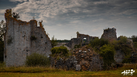 Ruines du château de Fagnolle