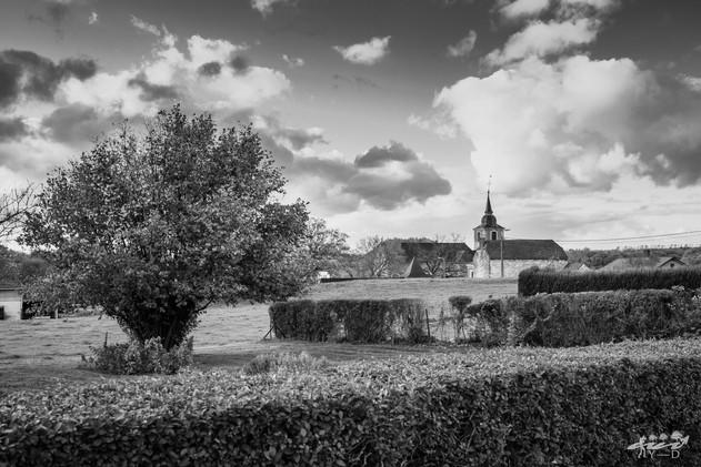 Thon Samson - Vue sur l'église Saint Rémy