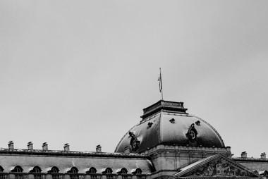 Détail du Palais Royal, Bruxellles