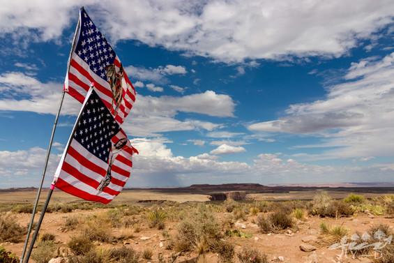 Sur la route du grand canyon, Arizona, Etats-unis
