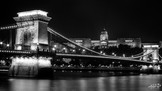 Pont des chaînes et château de Buda