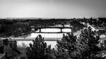 Vue depuis la Montée rater, Lyon, Wallophoto