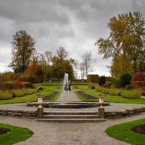 Des jardins magnifiques...