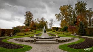 L'allée des fleurs, Jardins d'Annevoie