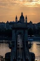 Pont des chaînes et Basilique Saint Etienne
