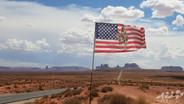 Forrest Gump point, Monument Valley, Arizona, Etats-Unis