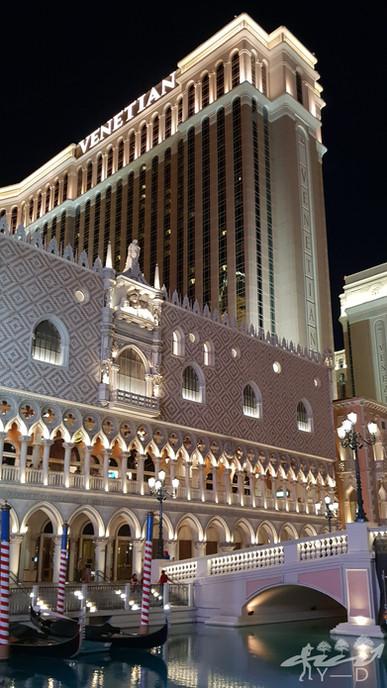 Las-Vegas, photographie de paysage, the venetian