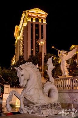 Las-Vegas, photographie de paysage, Caesar Palace