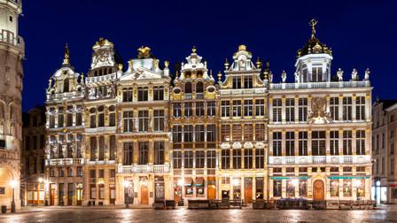 Grand-Place, Bruxelles, Wallophoto, Février 2021