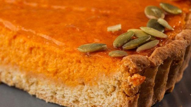 Keto Pumpkin pie, low carb