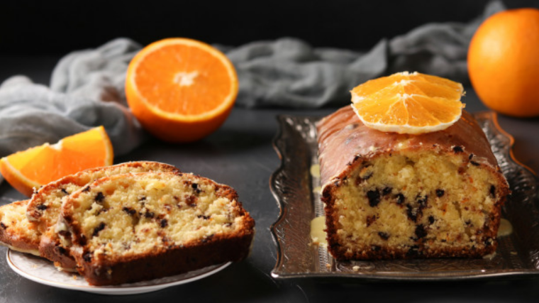 Keto Orange_Cranberry bread, low carb
