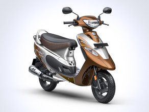 "TVS Motor Company launches TVS Scooty Pep+ ""Mudhal Kadhal"" (First Love) edition"