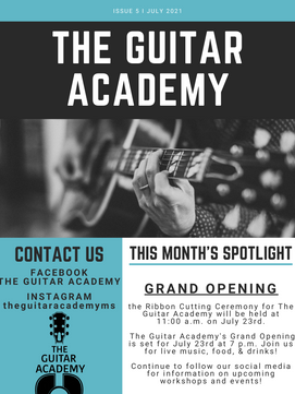 The Guitar Academy Newsletter July.png
