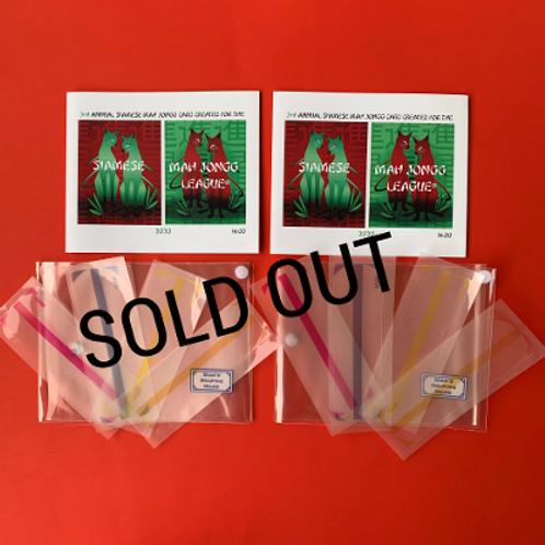 Siamese Mah Jongg® League Sleeve Kit (3 Highlighters)