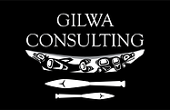 Gilwa Consulting Logo White on Black_Art