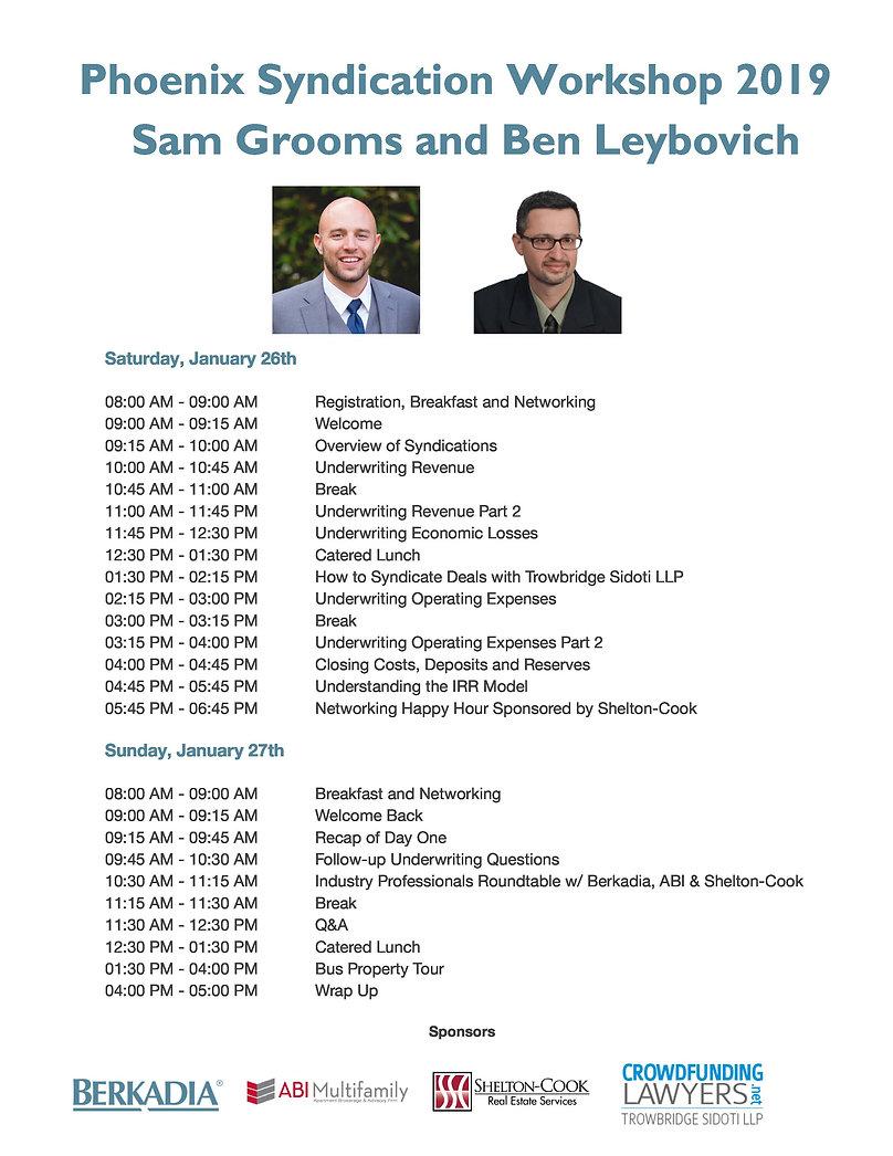 New Phoenix Syndication Workshop 2019 Sc